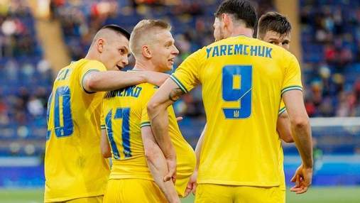 Сразу пятеро украинских игроков выросли в цене после Евро-2020