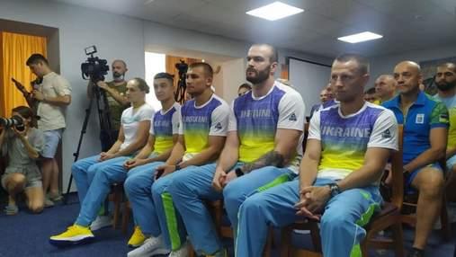 Первая группа украинских олимпийцев отправилась в Токио: фото