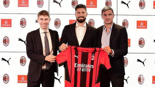 Нападающий сборной Франции Жиру официально перешел в Милан