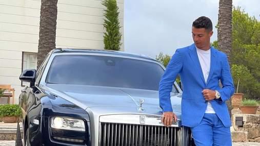 """""""День принятия решения"""": Криштиану Роналду похвастался Rolls Royce за 500 тысяч евро"""