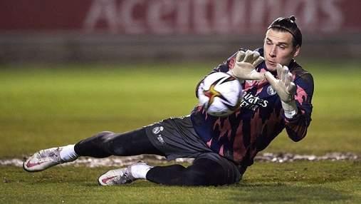 Лунин провел матч в статусе капитана Реала: фото