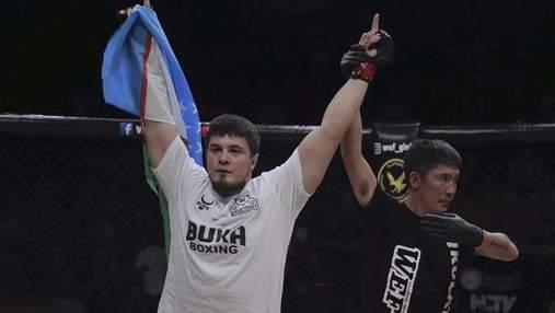 В автокатастрофе погиб чемпион мира по смешанным единоборствам Мурод Хантураев