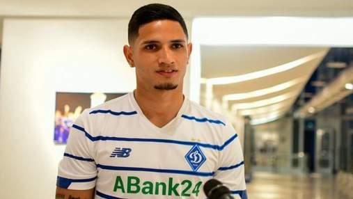 Динамо подписало контракт с первым венесуэльцем в истории Премьер-лиги