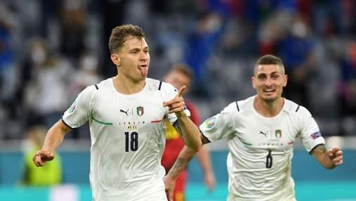 Фанат сборной Италии набил тату с изображением пьяного игрока-чемпионов Евро-2020: фото