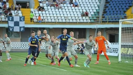 Дубль Довбика спас Днепр-1 от поражения Ворскле в матче с ужасными ошибками арбитра: видео
