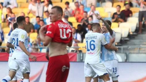 Динамо розгромило Верес, перші два голи було забито до 6-ї хвилини: відео