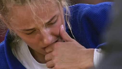 Дарья Белодед разрыдалась после получения бронзы на Олимпийских играх: эмоциональное видео