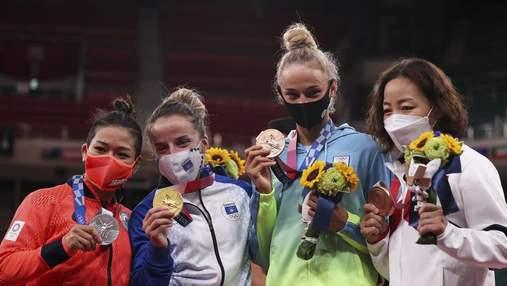 Белодед наградили медалью Олимпийских игр-2020: фото