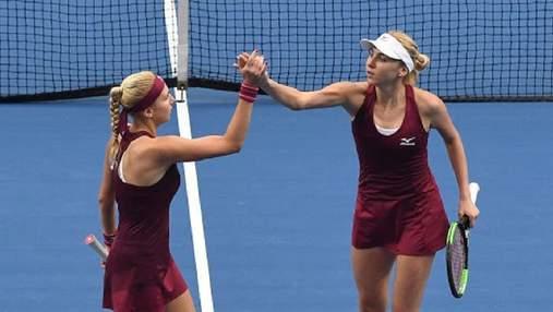 Сестры Киченок с победы стартовали в паре на Олимпиаде-2020