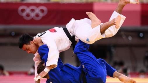 Третий подряд провал: украинский дзюдоист Зантарая проиграл в 1/8 финала Олимпиады
