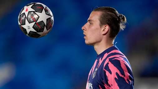 Сделал все, что мог: Лунин сыграл за Реал в проигранном матче с Рейнджерс – видео