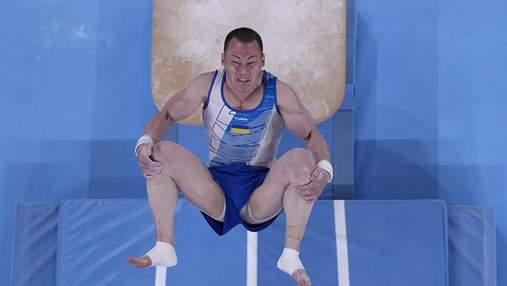 Два падіння завадили Україні взяти медаль Олімпіади-2020 у командному багатоборстві