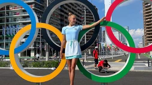 """З теплотою у серці та """"бронзою"""" у руках: пам'ятні фото Білодід із Олімпіади у Токіо"""