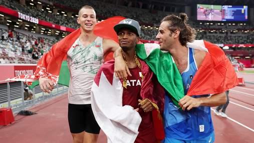 На Олімпіаді не змогли визначити чемпіона у стрибках у висоту: золоті медалі дали обом стрибунам