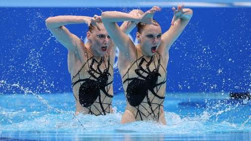 Российским синхронисткам выключили музыку во время выступления на Олимпиаде