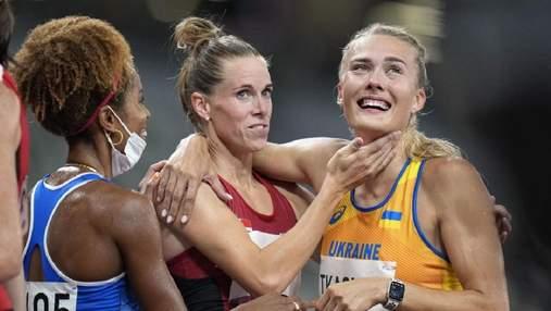 Слезы и поддержка соперницы: реакция Ткачук на выход в финал Олимпиады – эмоциональные фото