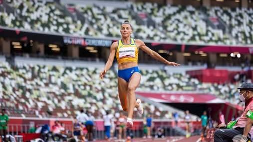 Розчарована своїми стрибками, – Бех-Романчук про 5 місце у фіналі Олімпіади-2020
