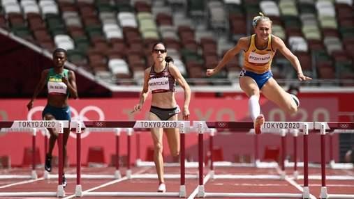 Рыжикова и Ткачук – в топ-6 Олимпиады в историческом забеге с барьерами для Украины