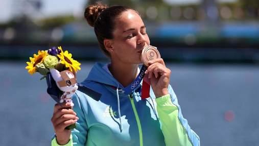 Здається, ніби це сон, – українка Лузан про свою першу медаль Олімпійських ігор