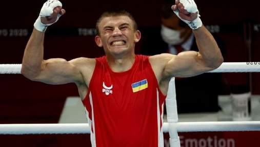 """Вирвав перемогу """"на зубах"""": українець Хижняк – у фіналі Олімпіади-2020 з боксу"""