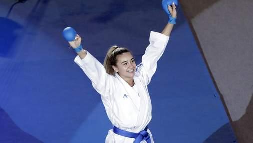 Гарантированная медаль для Украины: Терлюга без поражений вышла в полуфинал Олимпиады по каратэ