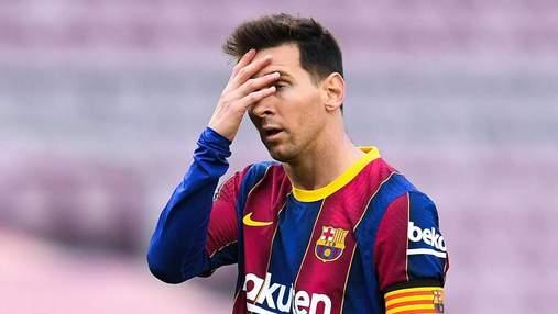 Мессі в шоці: чому зірвалося підписання 5-річного контракту з Барселоною