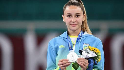 """Це біле """"золото"""", – каратистка Терлюга про історичне """"срібло"""" для України на Олімпіаді"""