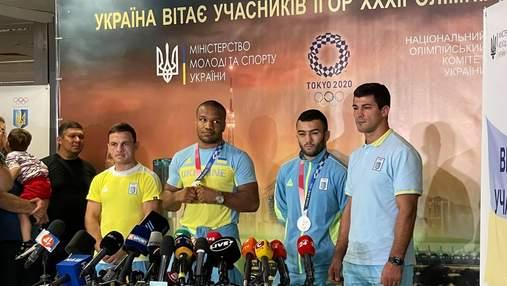 У Києві зустріли олімпійських медалістів Беленюка й Насібова: відео