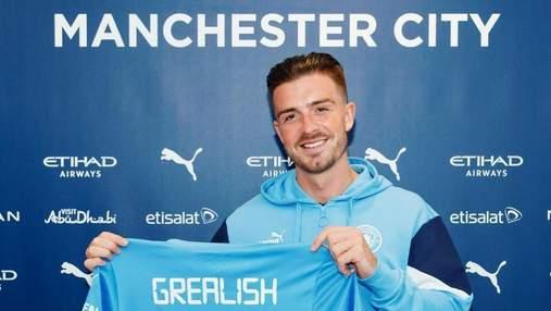 Джек Грилиш перешел в Манчестер Сити: игрок побил сразу два трансферных рекорда
