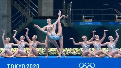 Українським синхроністкам включили не ту музику на Олімпіаді: так само помилялися з росіянками