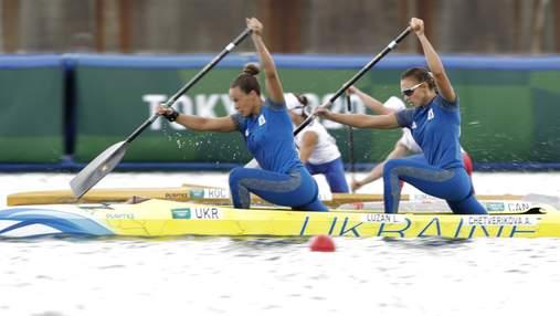 """Україна здобула """"срібло"""" у каное-двійці на Олімпіаді-2020"""