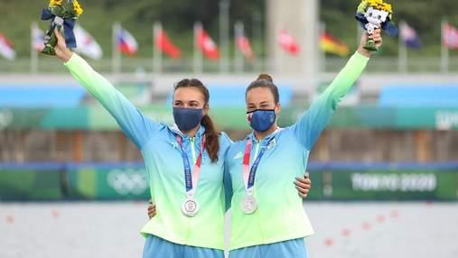 Серебряный финал: как украинки получили медаль Олимпиады в каноэ-двойке – видео