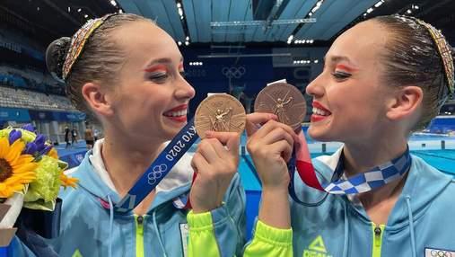 Хто у нас тут бронзовий призер, – українські синхроністки емоційно відреагували на медаль