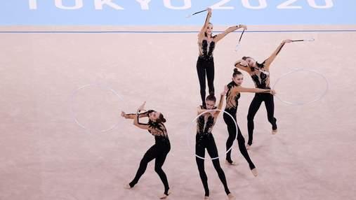 Олимпиада для Украины завершена: гимнастки заняли 7 место в командном многоборье