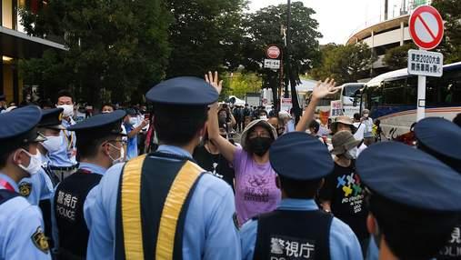 У Токіо спалахнули протести перед закриттям Олімпіади-2020: фото