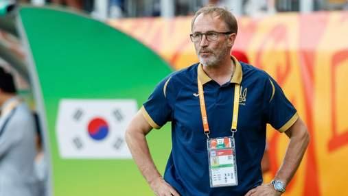 Сборную Украины временно может возглавить тренер, воспитавший чемпионов мира