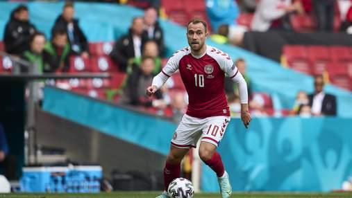Після зупинки серця під час матчу Євро-2020: Еріксен продовжить кар'єру футболіста
