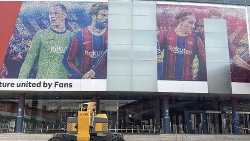 У Барселоні – нова ера: зі стадіону каталонців прибрали величезне зображення Мессі