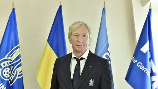 УАФ официально объявила о назначении Блохина и Михайличенко на должность Маркевича