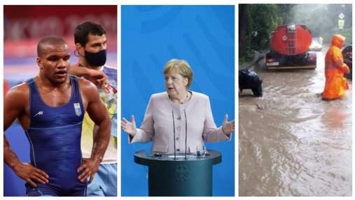 """Головні новини 13 серпня: напад на Беленюка, Меркель їде до Путіна, """"потоп"""" у Криму"""