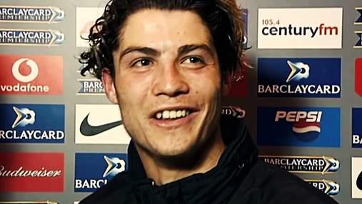 Я не понимаю, – 18 лет назад Роналду загнали в угол на первом интервью на английском: видео