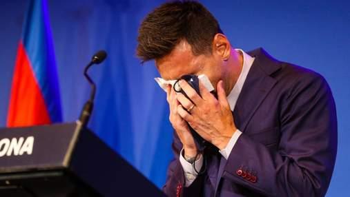 Салфетку со слезами Месси продают на аукционе за 1 000 000 долларов