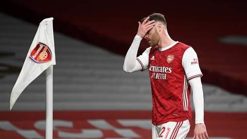 Арсенал позорно проиграл новичку АПЛ Брентфорду в 1 туре АПЛ: видео