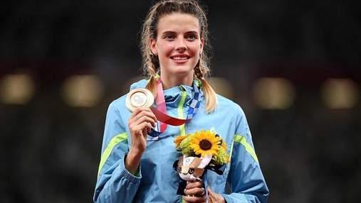 """Із """"бронзою"""" та позитивними емоціями: Магучіх розповіла про дебютну Олімпіаду у Токіо"""