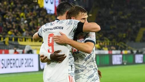 Баварія виграла Суперкубок Німеччини: Левандовський оформив дубль у ворота Боруссії Д