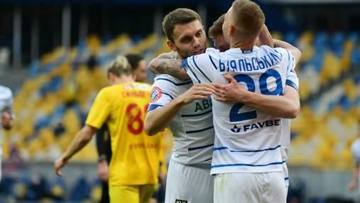 Динамо неожиданно не смогло победить Ингулец в УПЛ: видео