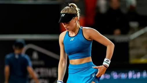 С*ка їб*на, – суперниця Ястремської вилаялася на українську тенісистку після поразки