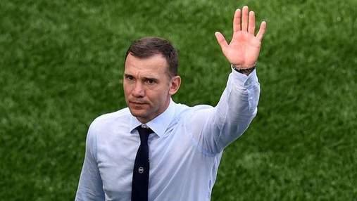 Шевченко звернувся до збірної України після призначення нового тренера