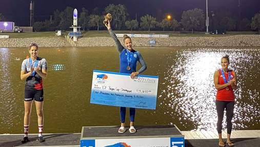 Українська веслувальниця Лузан перемогла на світовому Суперкубку