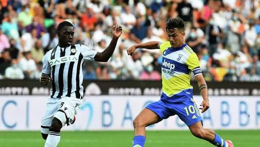 VAR скасував гол Роналду на 94 хвилині: Ювентус сенсаційно втратив очки з Удінезе – відео